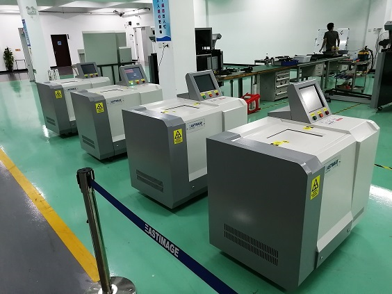 Advanced X-Ray Liquid Inspection System EI-LS1525 Delivered to Africa Airport for Security Control